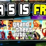 Now GTA 5 for free at Epic Games Store