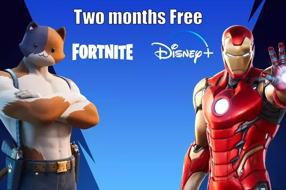 Get Free two months of Disney Plus with purchases on Fortnite