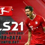 DLS 21 APK Bayern Munich New Kits 2021 Android Download