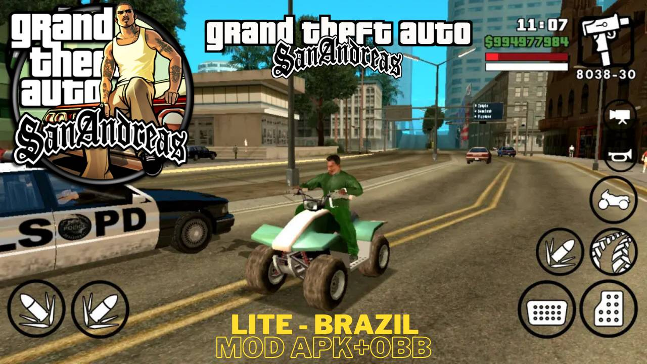 GTA APK Data Mod Brazil game android Download