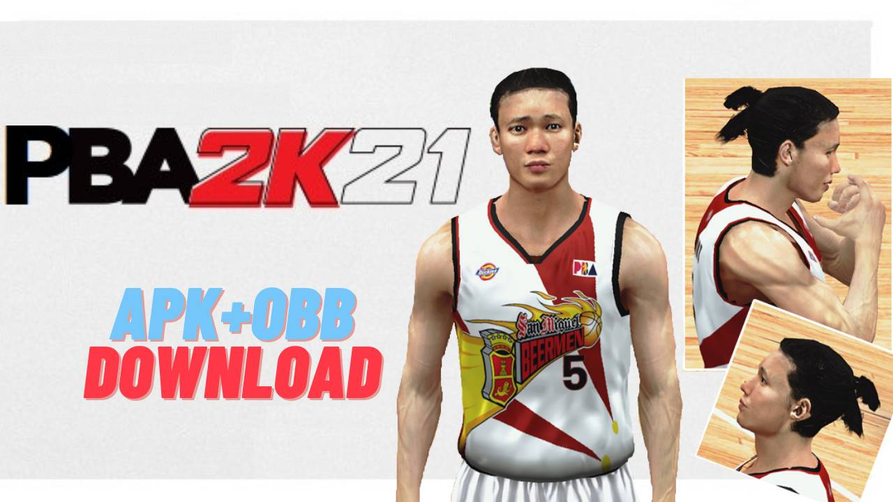 PBA 2K21 Android APK OBB Data Download
