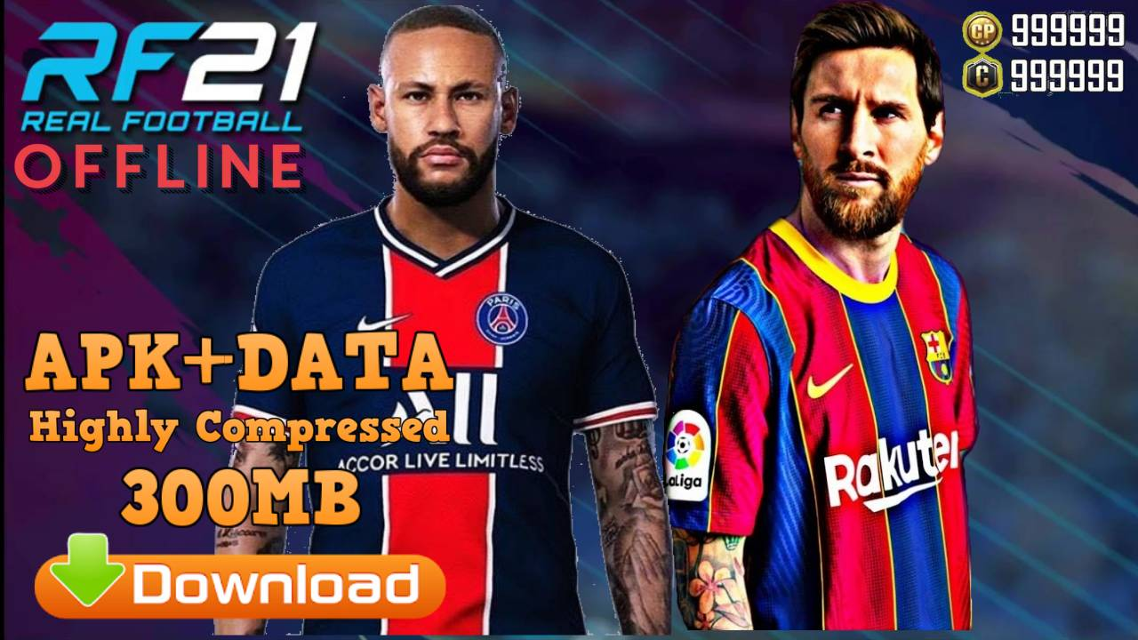 Real Football 2021 Mod APK Data Android Download