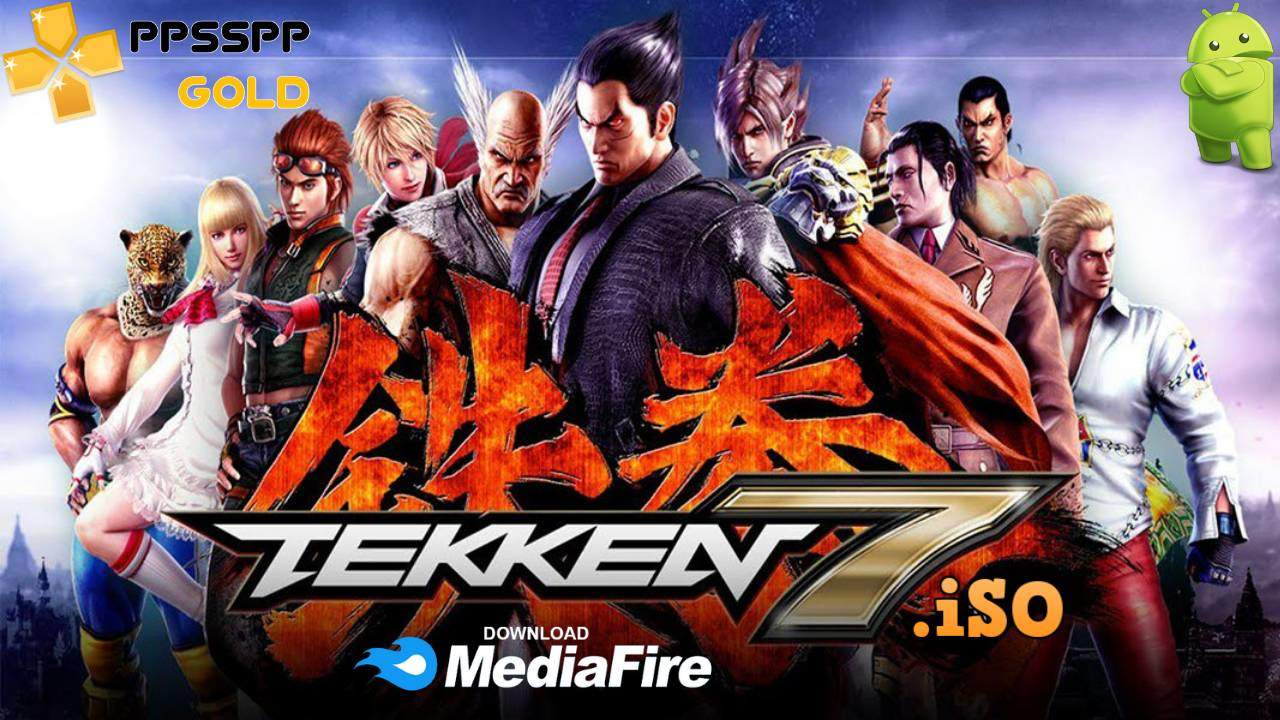 Tekken 7 PPSSPP Gold for Android