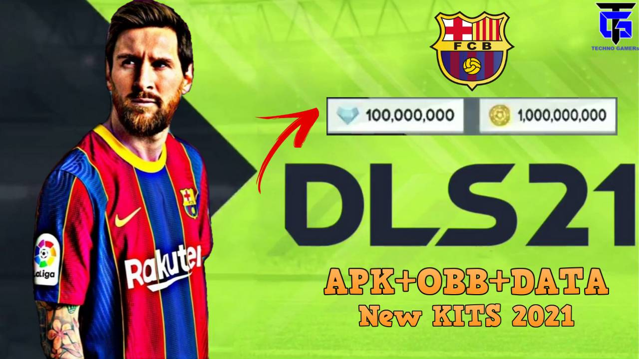 DLS 21 Apk Mod Barcelona Team 2021 Download for Android