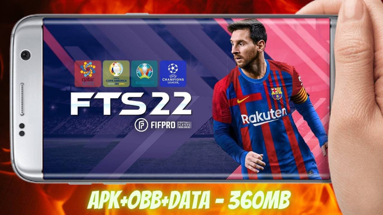 FTS 2022 Mod APK Obb Data Money Download