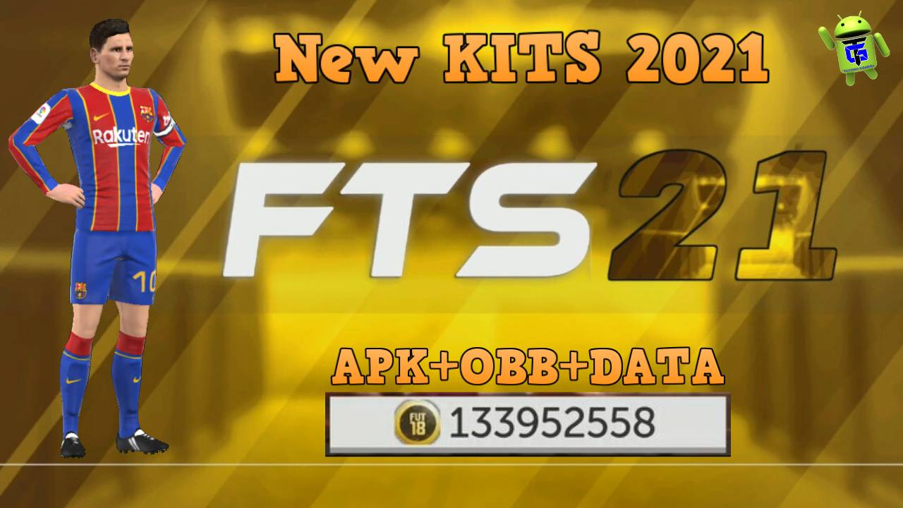 FTS 21 Gold Edition Mod APK New Kits 2021 Download