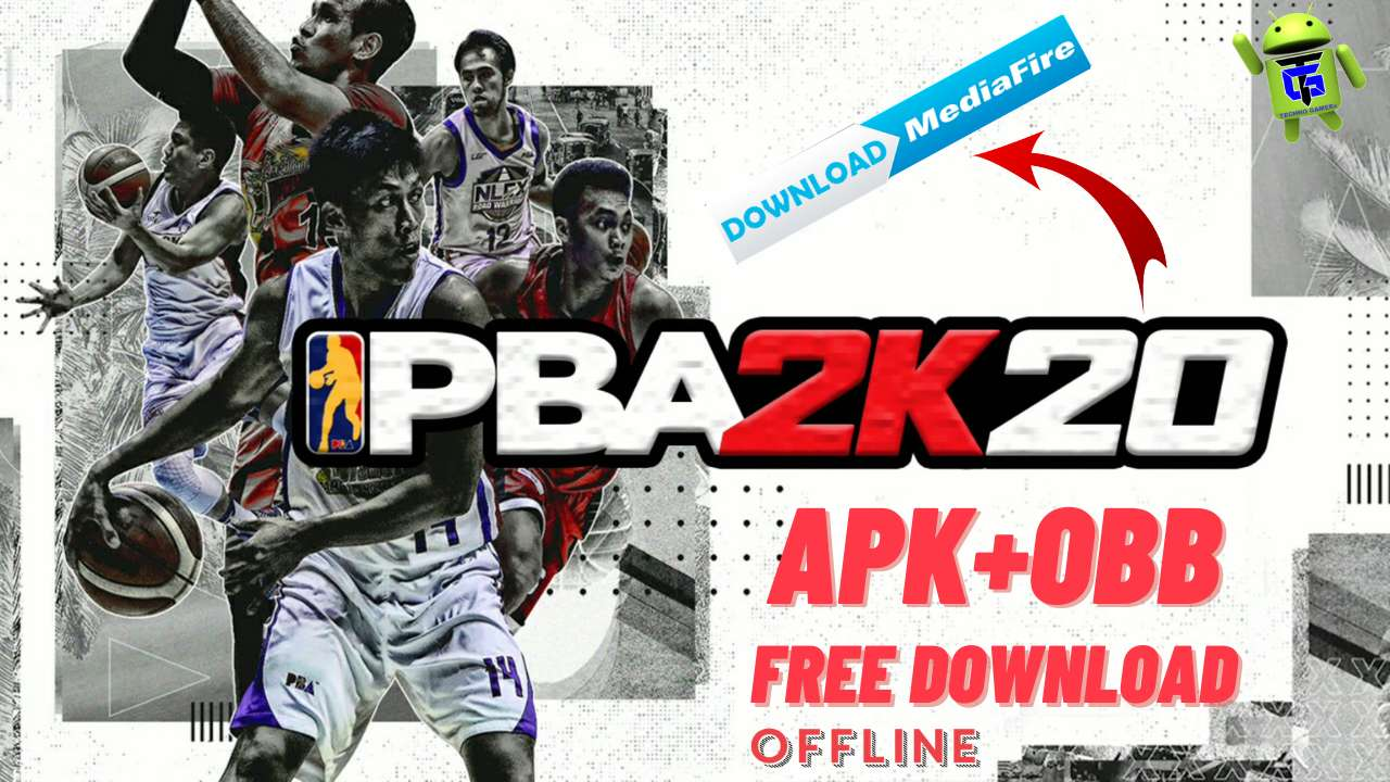 PBA 2K20 Mod Apk Obb Android unlimited money Download