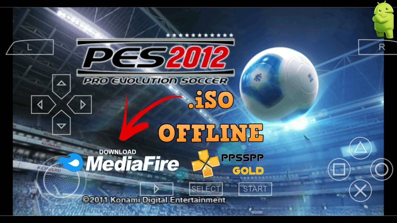 PES 2012 PPSSPP Android Download