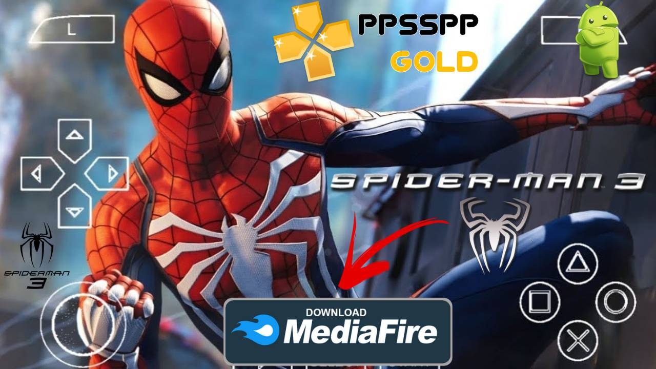Spider Man 3 PPSSPP for Android and iOS Download