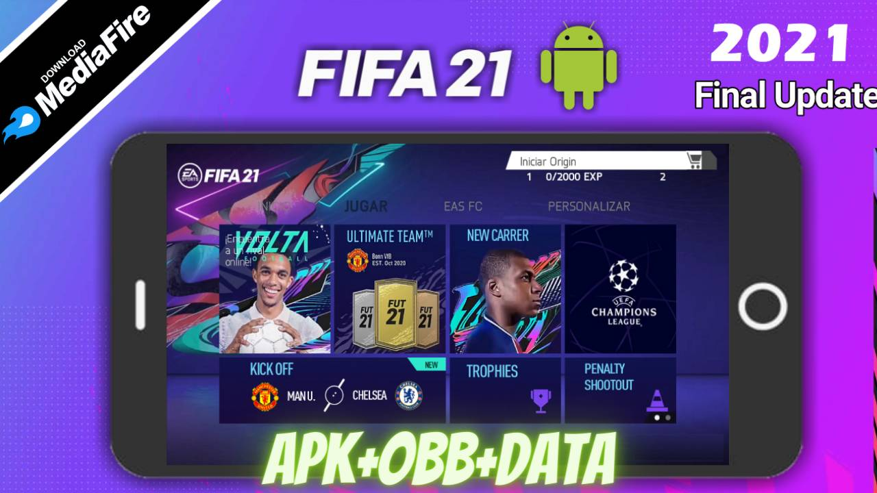 FIFA 21 APK Mod Volta Data 2021 Download
