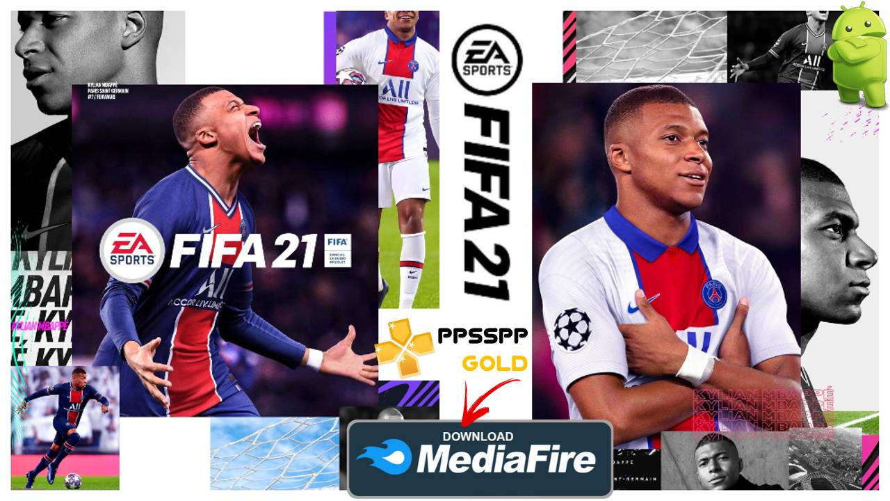 FIFA 21 PPSSPP Offline Kit 2021 for Android Download