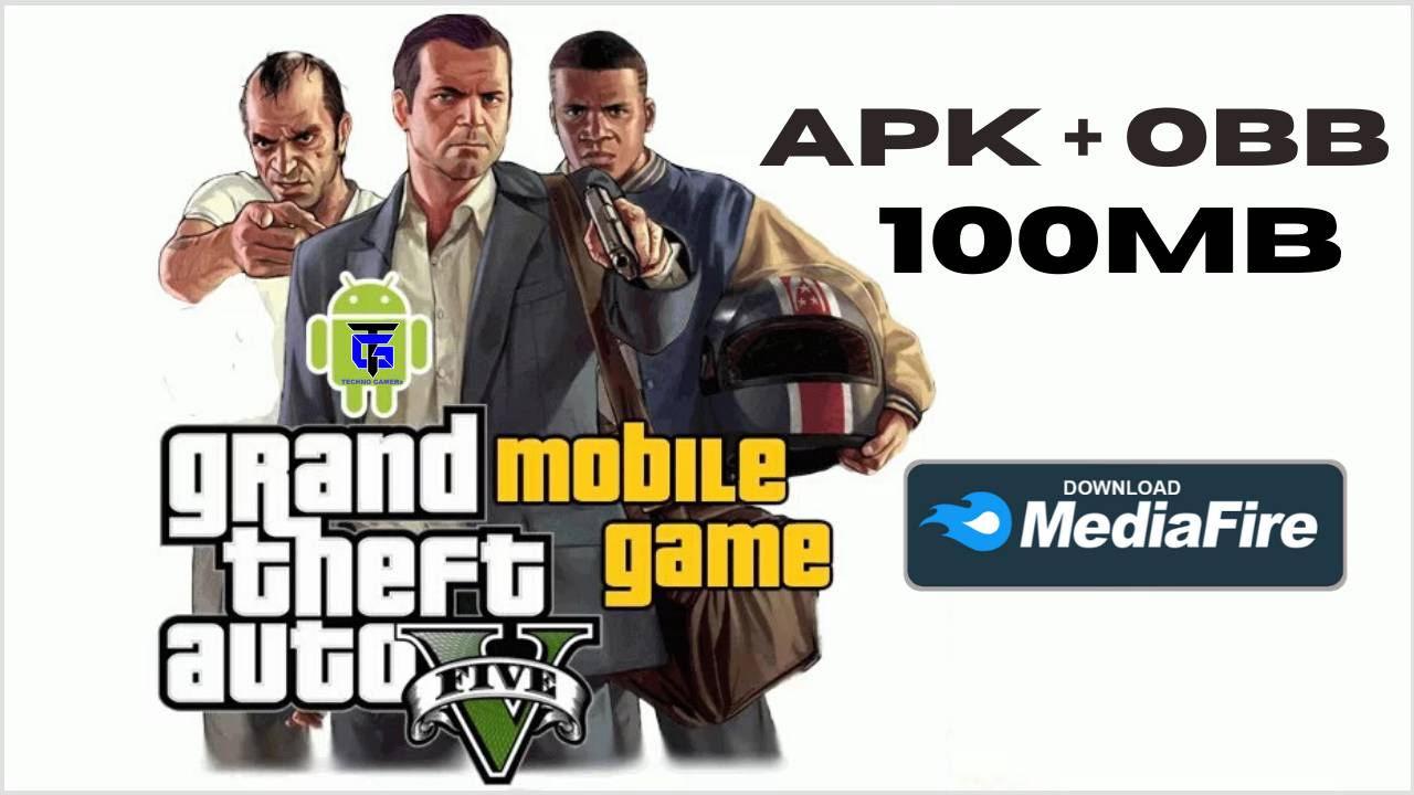 GTA 5 for Android 100MB Free Download