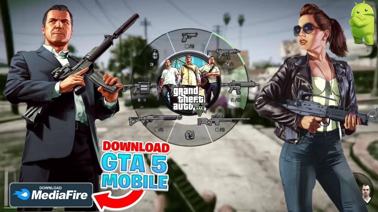 GTA 5 Unity APK Mod Game Download