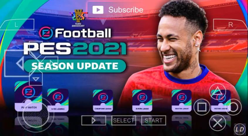 Download PES 2021 PPSSPP Camera PS5 Android Update