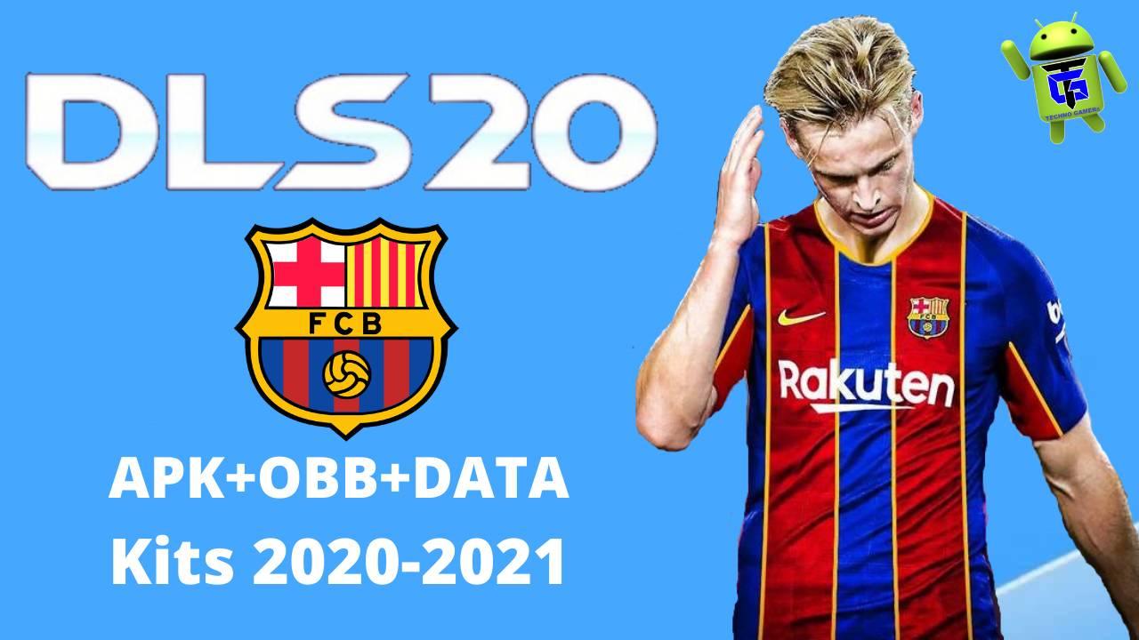 DLS 20 Mod APK Barcelona New Kits 2021 Download