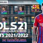 DLS 21 Mod APK Data Barcelona Kits 2022 Download