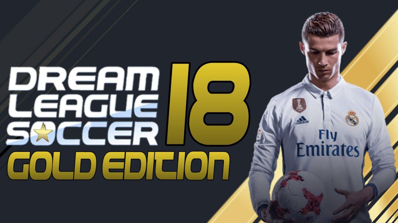 DLS 18 APK Dream League Soccer 2018 Gold Edition Apk Data Download