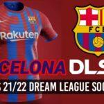 FC Barcelona New Kits 2022 DLS 21 FTS Logo