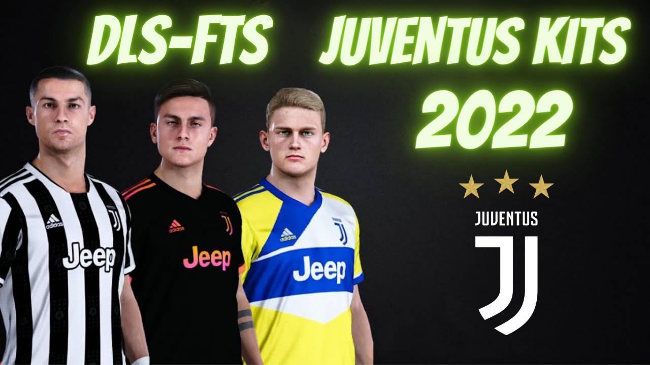 Juventus Kits 2022 Dream League Soccer FTS