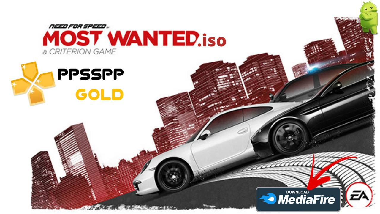 NFS Need For Speed Most Wanted PPSSPP Download