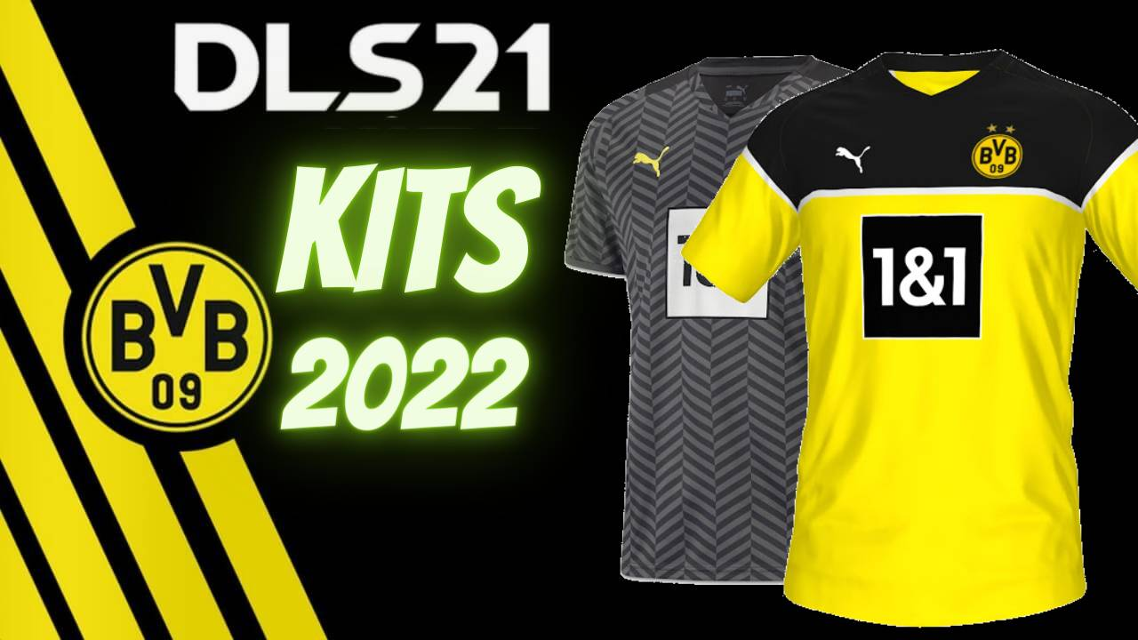 DLS 21 Borussia Dortmund Kits 2022 Touch Socce FTS