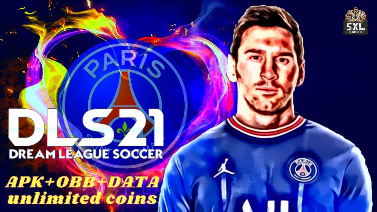 DLS 21 APK Messi on PSG Hack Profile Download