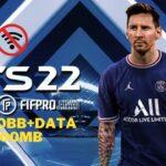FTS 22 Mod APK+OBB Messi Data Coins Download