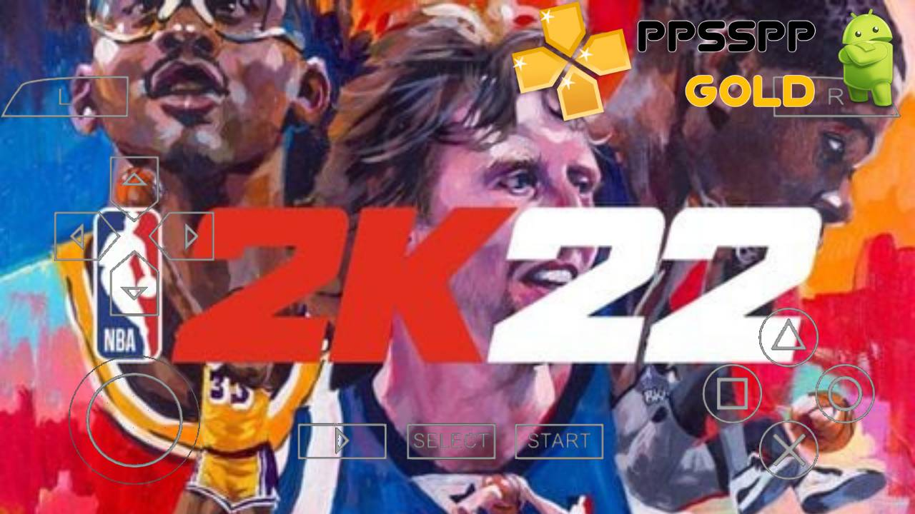 NBA 2K22 PPSSPP iSO PSP for Android and iOS Download