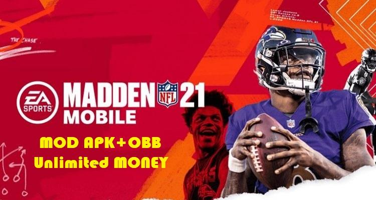 Madden NFL 21 APK Mod Money Unlocked Download