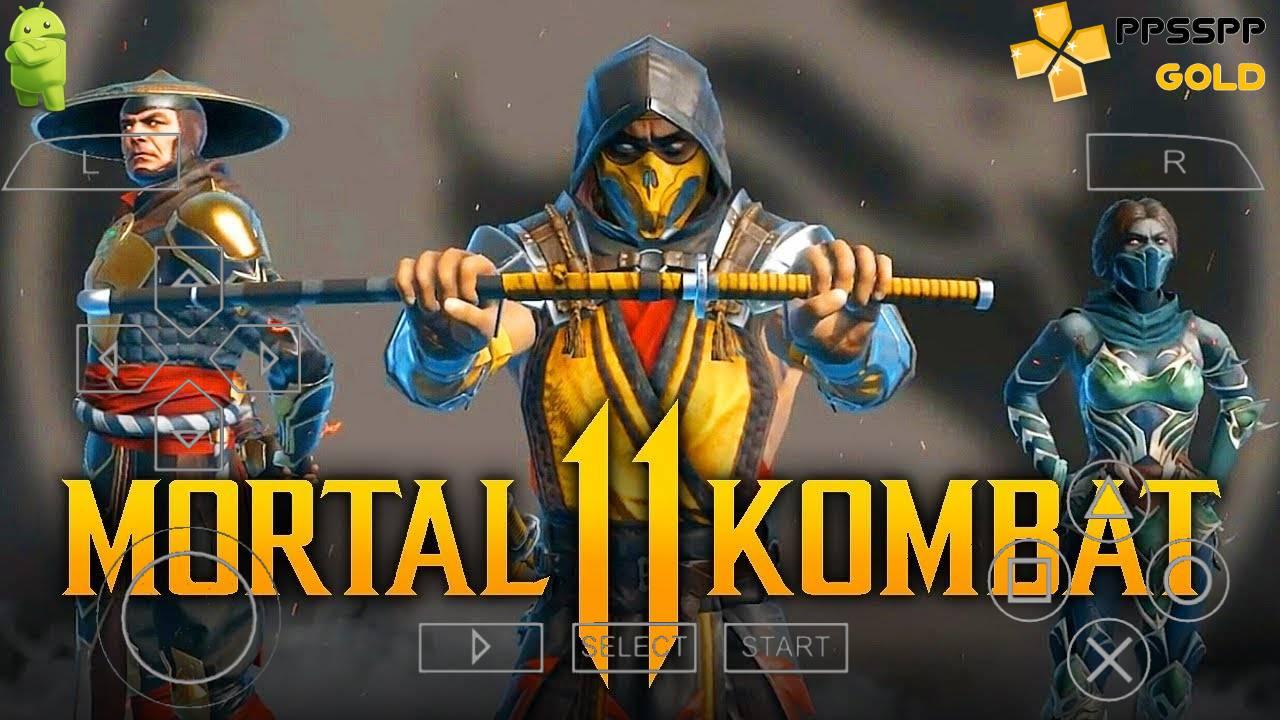 Mortal Kombat 11 PPSSPP Highly Compressed Download