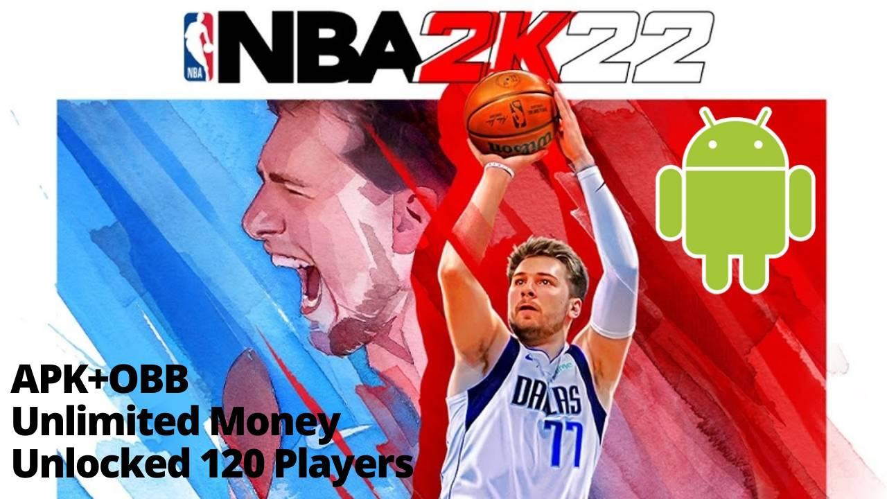 NBA 2K22 APK Mod Unlimited Money Download