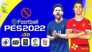 PES 2022 PPSSPP English Update Kits Faces Transfers Download
